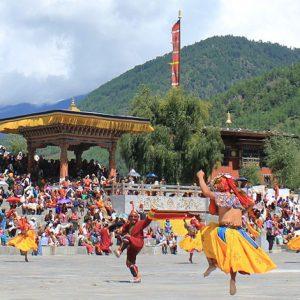 8 days Thimphu Tshechu Festival